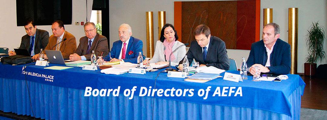Board of Directors of AEFA