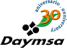 Logotipo de Daymsa en su 30 aniversario