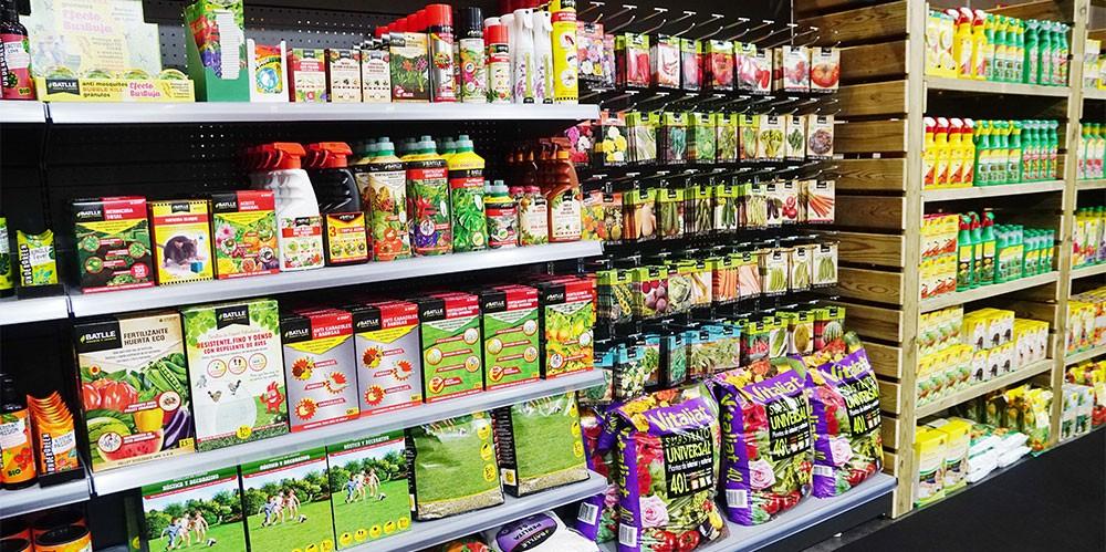 Lineal de productos para el huerto urbano