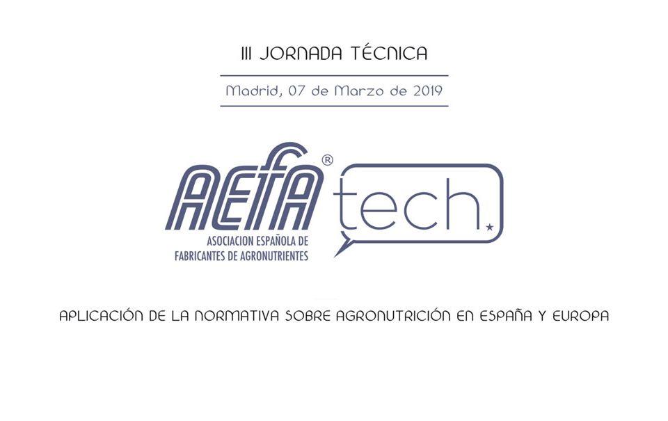 PPTs de la jornada AEFA-TECH
