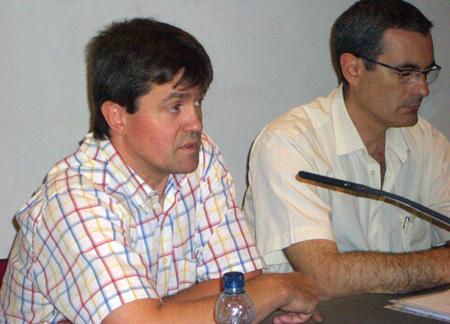 Pere Tarrida y Alberto Morera