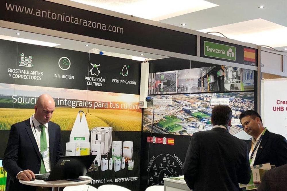 Antonio Tarazona en el IV Biostimulants World Congress