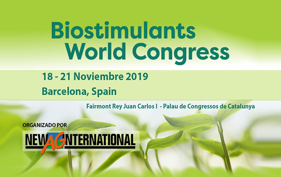 Biostimulants World Congress 2019