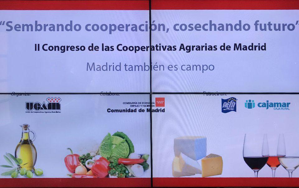 II Congreso de la Unión de Cooperativas Agrarias de Madrid