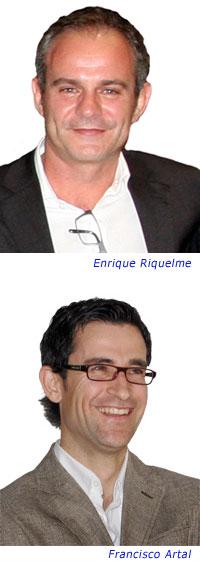 Enrique Riquelme Terrés y Francisco Artal Huerta