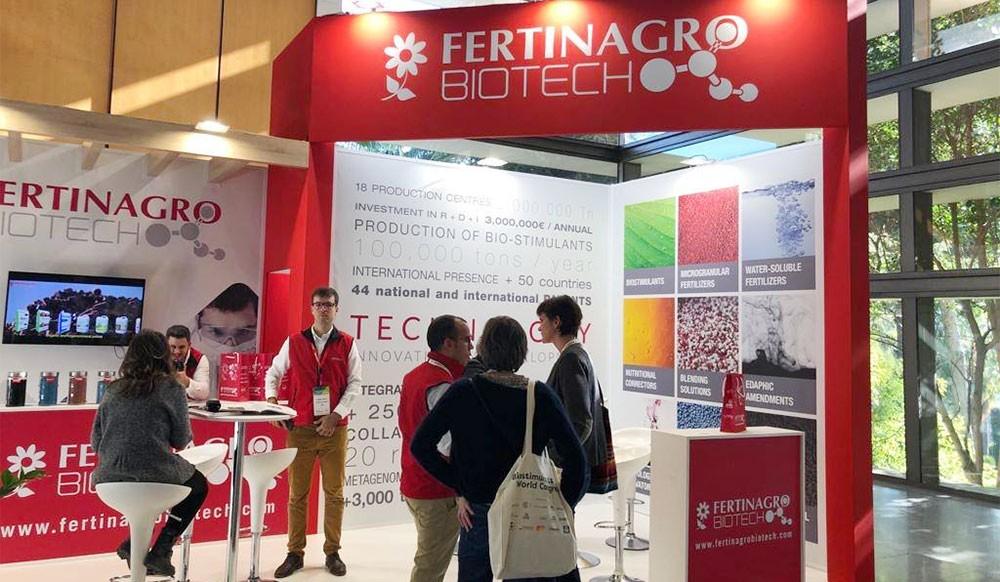 Fertinagro en el IV Biostimulants World Congress