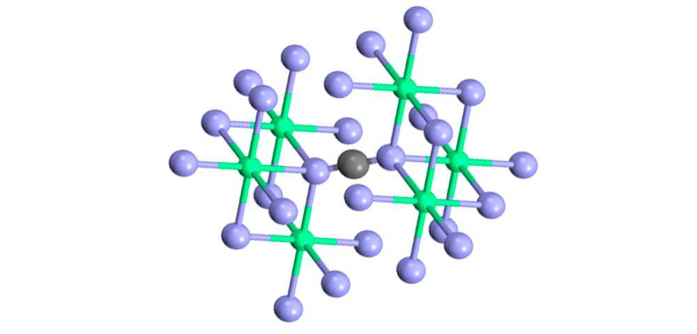 Fórmula de cianamida cálcica