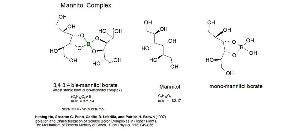 Formulaciones del Boro