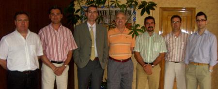 Reunión del equipo gestor del evento AEFA