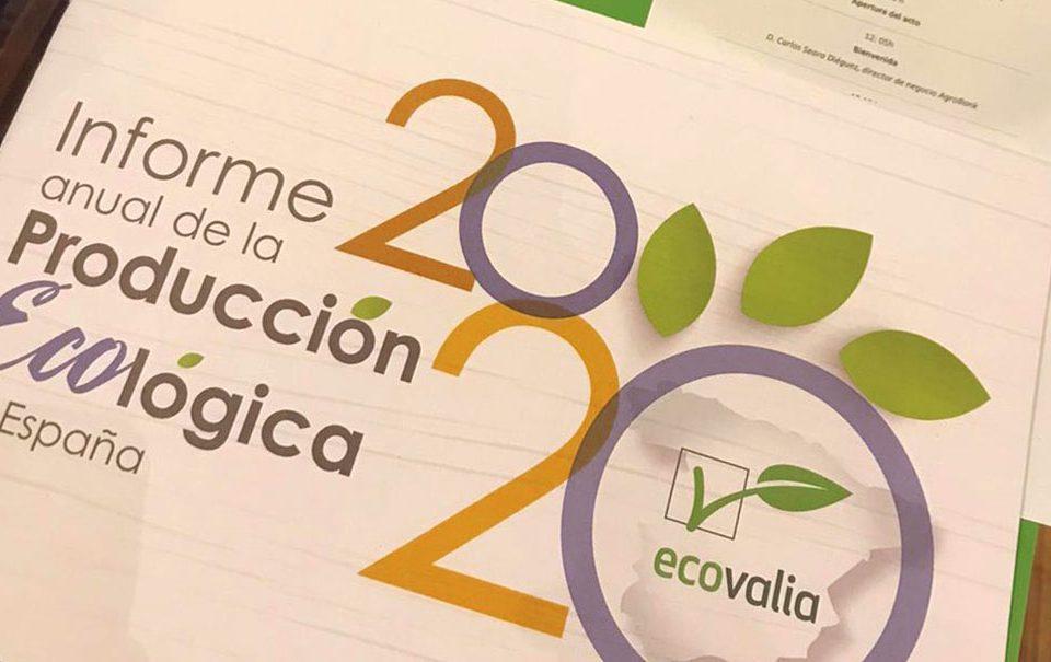 Informe anual de la Producción Ecológica en España