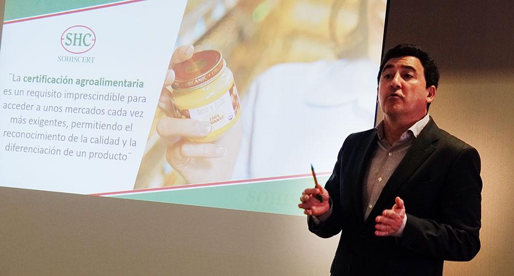 Jose Luis García, director de expansión de Sohiscert