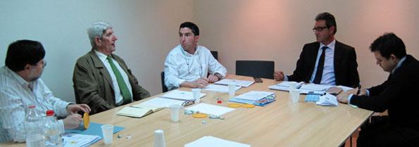 Reunión de trabajo de la Junta directiva de AEFA