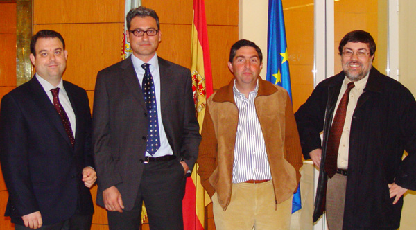 Ernesto Santaballa Beltrán, Fernando Feliu Sendra, Francisco Javier Soriano Pons and Rafael Piñol Dastis