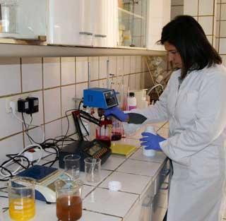 Laboratorios agrícolas