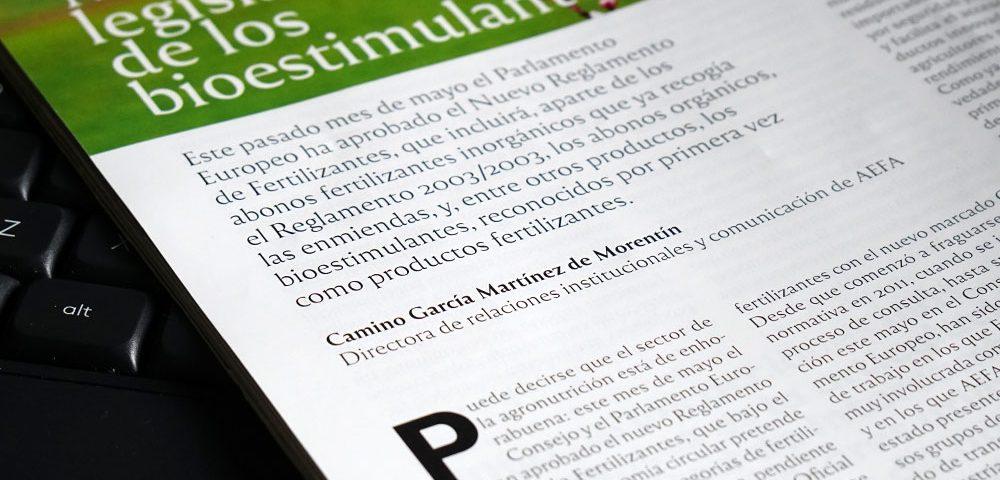 Marco legislativo de los bioestimulantes