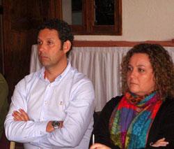 Nieves Ruiz, Directora de la Fundación y Ricardo Pérez, asesor científico del patronato