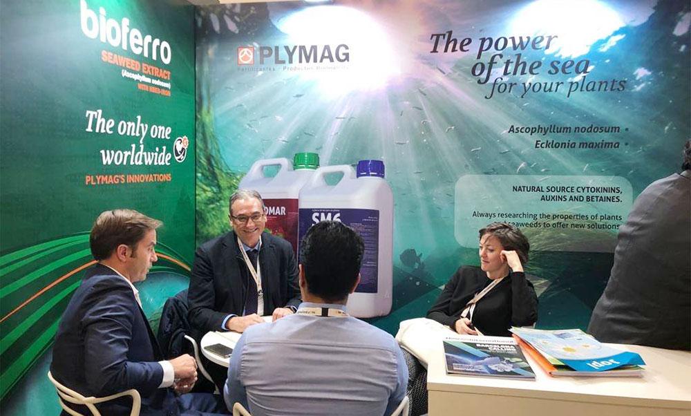 Plymag biotech en el IV Biostimulants World Congress