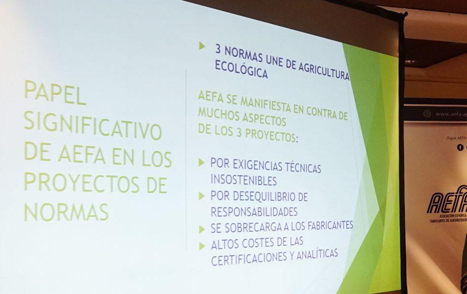 Actualización de normativas de fertilizantes vs AEFA