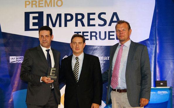 JISA, Premio Empresa Teruel 2013