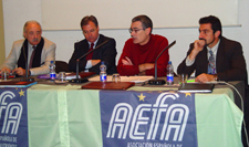 Francisco Ponce, Ricardo Villuendas, Alberto Morera y Nestor Coltell