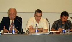 Francisco Ponce, Alberto Morera y Néstor Coltell