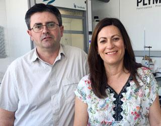 Santiago Sáez Cara y Ana Feliu Sendra