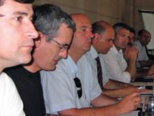 Socios de AEFA durante su reunión sobre los Fitortificantes y su legislación