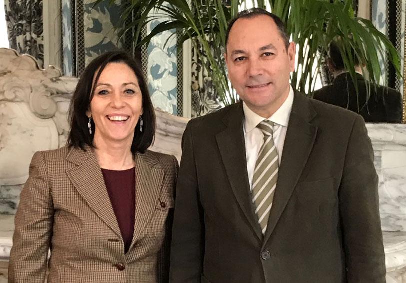 Victoria Cadahía y Victorino Martínez