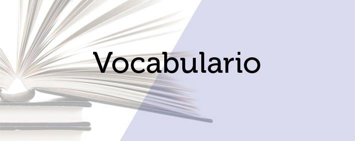 Vocabulario de términos en agronutrición